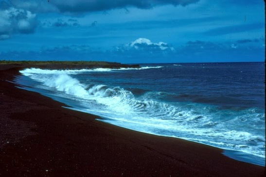 black sand beaches 1