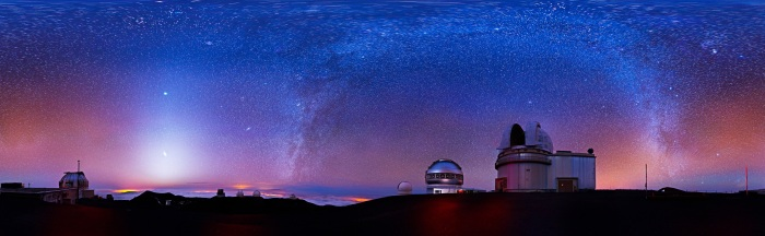 hawaii-mauna-kia-milkyway-over-observatories