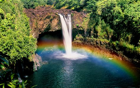 Rainbow Falls and Boiling Pots