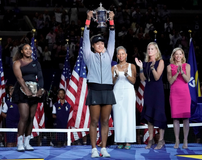 naomi osaka stage trophy 2018 us open