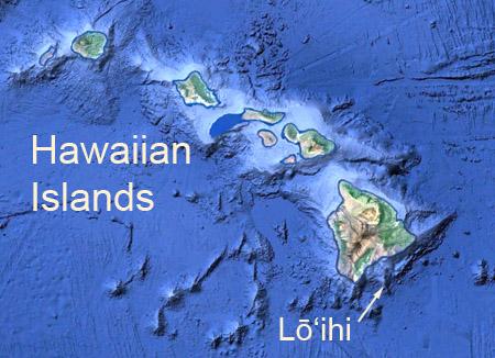 Mapping the next Hawaiian island
