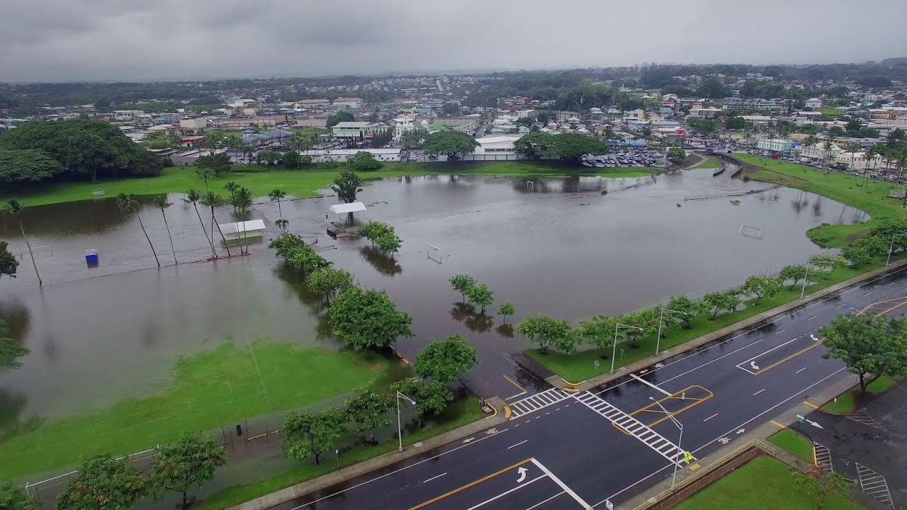 Once Again Rains Flood The Big Island 2020