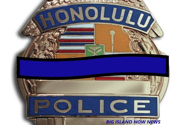 HONORING 2 FALLEN OFFICERS HONOLULU POLICE DEPARTMENT