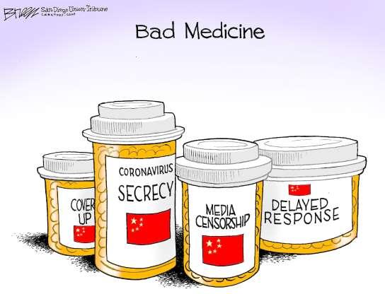 BAD MEDICINE, CORONAVIRUS